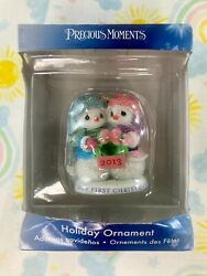 Precious Moments Holiday Ornament Our First Christmas 2013