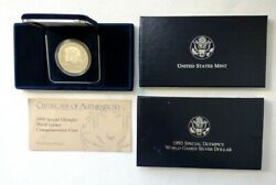 1995 Special Olympics World Games Commemorative Proof Silver Dollar