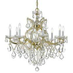 Crystorama 4409-gd-cl-mwp Maria Theresa Chandelier Gold
