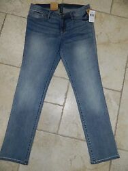 Nwt Jeans Company Women Slimming Fit Modern Rise Jeans Sz 8