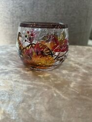 yankee candle fall votive holder