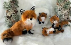 Foxy Wawhiskers And Her Kits