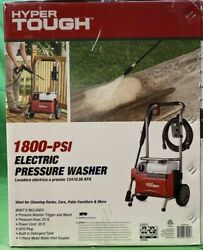 Hyper Tough 1800psi 1.2gpm Electric Pressure Washer - New And Free Shipping