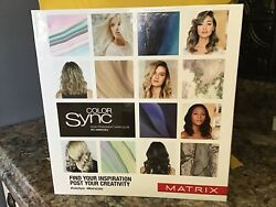 Matrix Color Sync 2020-swatch Book New In Wrap K1