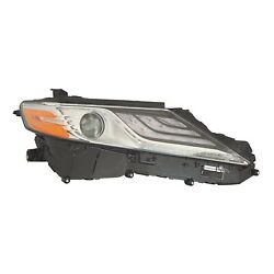 To2503256 New Replacement Right Side Headlight Assembly Fits 2018 Camry Xle Capa