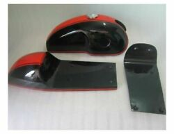 Benelli Mojave Cafe Racer Dual Painted Fuel Tank With Seat Hood Pair+cap+tap