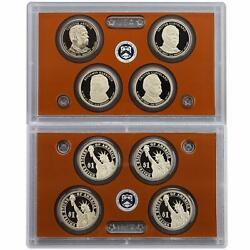 2012 S Presidential Dollar Proof Set 4 Coins No Box Or Coa Us Coins