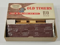 Central Valley Ho Scale Mobile And Ohio Ventilator Car R-94 Kit