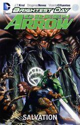 Green Arrow Tpb Brightest Day 2-1st Fn 2013 Stock Image