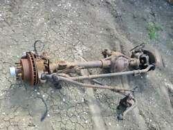 Ford Dana 60 Super Duty Leaf Front Axle Assembly Driver Drop And Rear Axle Pair