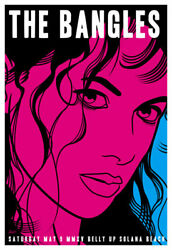 Scrojo The Bangles Belly Up Tavern Solana Beach 2015 Poster Bangles_1505