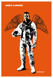 Scrojo Angels And Airwaves Belly Up Tavern Solana Beach 2012 Poster Angels_1202