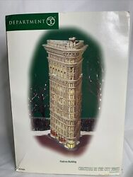 Dept 56 Christmas In The City Buildings Flatiron Building
