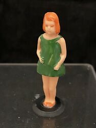 Rare 1960's Sears Toy Battery Operated Camper Trailer Original Parts Girl Figure