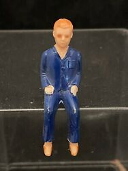 Rare 1960's Sears Toy Battery Operated Camper Trailer Original Parts Boy Figure