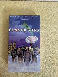 Vintage Ghostbusters Factory Sealed Vhs / Ghostbusters Movie / Sealed
