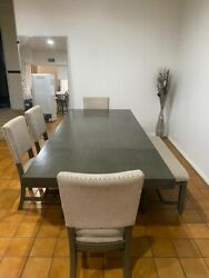 Dinning Table Chairs And Bench Included