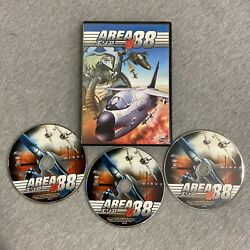 Area 88 - Tv Complete Collection Dvd 2008 3-disc Set