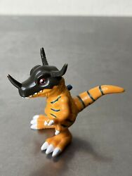 Digimon Greymon 2andrdquo Action Figure With Moving Arms Jaw Bandai 1999 Preowned