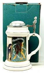 Vtg Elvis Presley In The Army Day Collectible Beer Stein / Mug 1094 Cui Coa