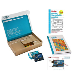 Arduino The Official Starter Kit Deluxe Bundle With Make Getting Started The