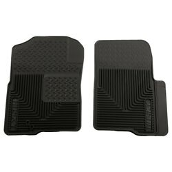 51231 Husky Liners Floor Mats Front New Black For F150 Truck Ford F-150 Titan