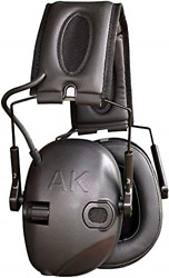 Akt1 Sport Sound Amplification Earmuff, Electronic Hearing Protection For Sports