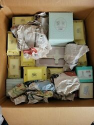 Precious Moments Figurines Lot Of 40. 1980s-1990s. Nearly All In Original Boxes.