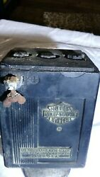 Harley Davidson Oem Battery 66001-47 Used For Hummer Small Motorcycles Beginning