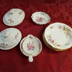 Royal Crown Derby Derby Posies 10 Miscellaneous Dishes
