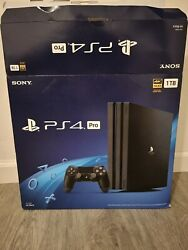 Sony Playstation Ps4 Pro 1tb. 4k. Gaming Console. Open Box With Original Box.