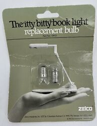 Itty Bitty Book Light Zelco Sealed Pack Replacement Light Bulbs 10413 Plus One
