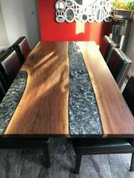 5and039x3and039 Epoxy Resin Coffee Table Top Handmade Home Furniture Decor Wooden K30