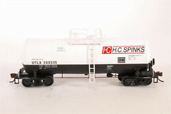 Walthers 932-7216 16,000 Gallon Funnel Flow Tank Car Hc Spinks Utlx 300335 White