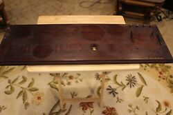 Atwater Kent Breadboard With Some Hardware Stamped Non Saleable, 31 1/2 X 10