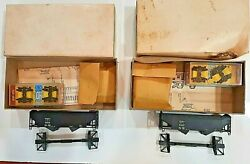 Lima Models Ho Acl 34and039 Offset Hopper Lot Of 2