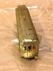 Key Imports Ho 1357 Brass Pacific Electric Railways Combine Single Pole Traction