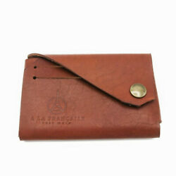 Leather Wallet Credit Cards And Coins Slim Wallet Suited Hadnmade