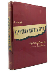 George Orwell Nineteen Eighty-four 1st Edition 1st Printing