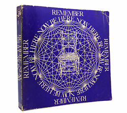 Ram Dass Be Here Now 1st Edition 1st Printing