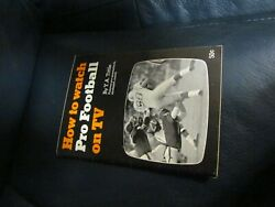 How To Watch Football On Tv Book By Y.a. Tittle