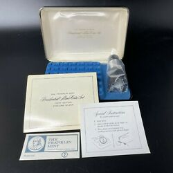 Vintage Franklin Mint Presidential Mini Coins Set First Edition Sterling Silver