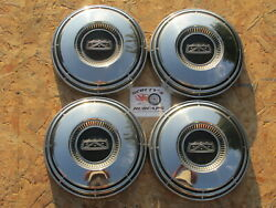 1968-74 Ford F100 Pickup Truck Econoline Van Poverty Dog Dish Hubcaps Nos 4