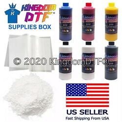 Dtf Supplies Box Dtf Inks, Dtf Films, Dtf Powder For Dtf Printing Fast Shipping