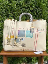 Coach X Basquiat Rogue 39 Satchel With Snakeskin Accents Style 6877andhellip.sold Out
