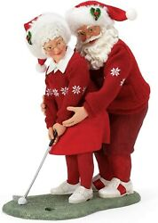 Department 56 Possible Dreams Santa Sports And Leisure Mrs. Claus Golf Pro