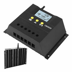For Pwm Solar Charge/discharge Controller Cell Panel Battery System Lcd Display