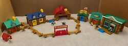 Lincoln Logs Rocky Mountain Ranch, General Store, Sheriffs Office, Lonesome Pine