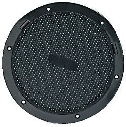 Beckson Pry-out Deck Plate 8 Black Non-skid Dimple