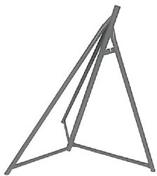 Sailboat Stand/base Only- Brownell Boat Stands Size 48 - 65